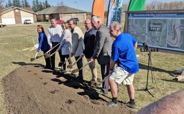 Skunk Creek Trail Groundbreaking