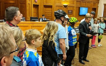 Mayor Mike Declares May as Bike Month