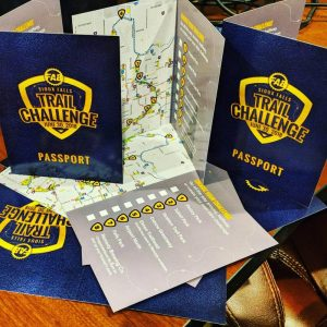 Be sure to get your passport stamped at as many stops as you can. Show your passport when you return to Remedy to receive your Finisher's Pack, prizes, and Remedy drink ticket.