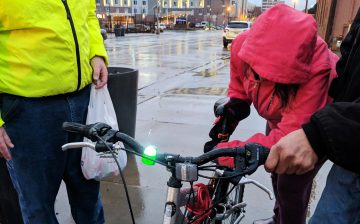 FAB Distributes Lights to Community