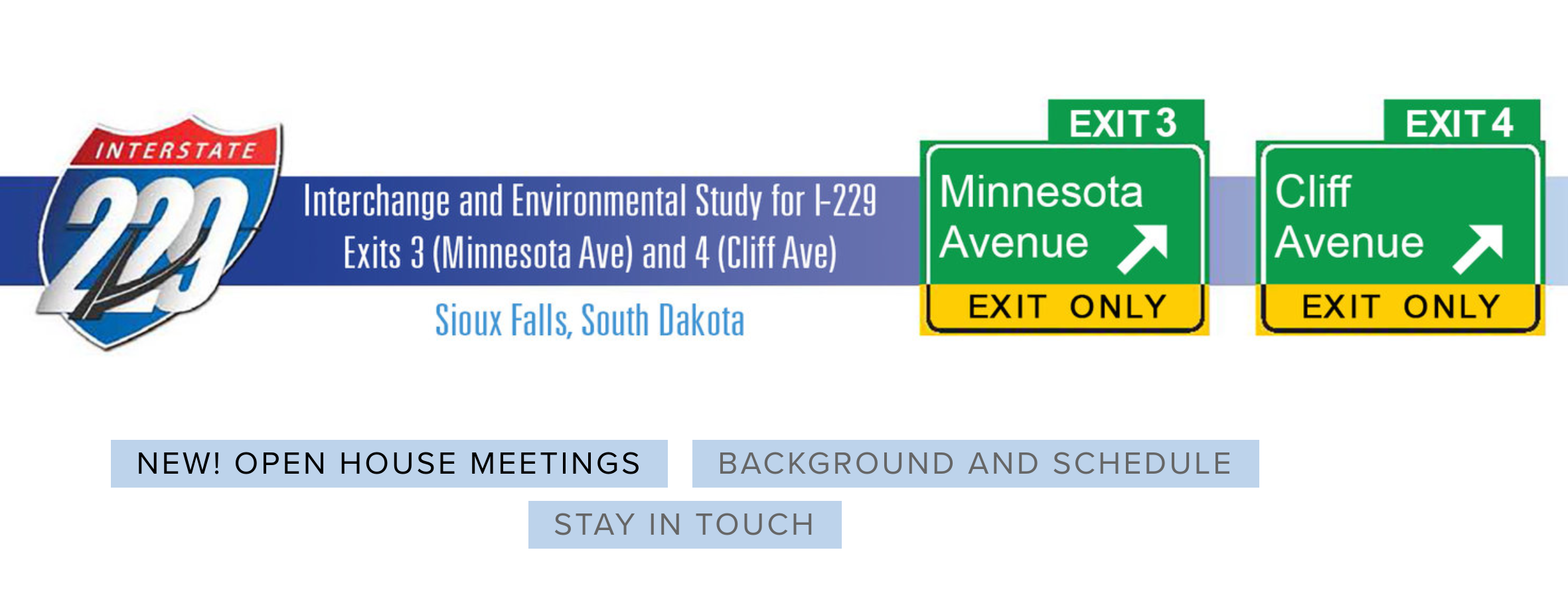 Take Action: I-229 Exits on Cliff and Minnesota Ave